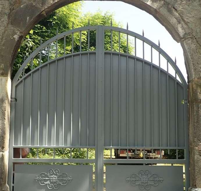 portail acier