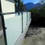 garde corps acier pince verre zamak – vitrage 55.2 opale